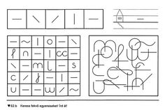 Fejlesztés - Kiss Virág - Picasa Webalbums Gross Motor Activities, Sensory Activities, Social Stories, Worksheets, Picasa, Shapes, Activities, Patterns, Kindergarten
