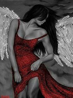 Ангел - анимация на телефон №1372120