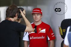 Wow. Great pic of Kimi's eyes. Intense is the word that comes to mind.