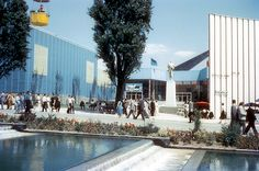 Water & air pavilion at 1958 Brussels expo
