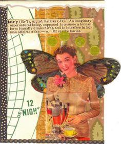 Fairy:Amy Peacock - ATCs - Artist Trading Cards  pavoninestudios.com