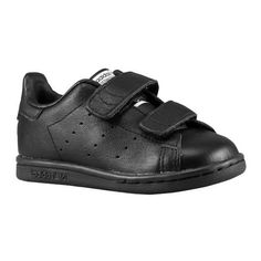 Shoes For Kim Kardashian & Kanye West's New Baby: Adidas Stan Smith for  infants with Velcro closures.