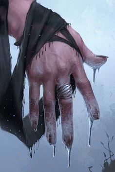 Vielleicht sieht es so aus, wenn eine Sjögadrun ihre Magie gewirkt hat ... (artist unknown)
