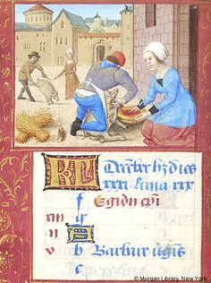 Book of Hours, MS M.348 fol. 25v - Images from Medieval and Renaissance Manuscripts - The Morgan Library & Museum