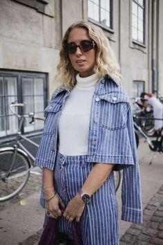 Best Street Style from Copenhagen Fashion Week SS21