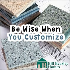 When building a new home, it is important to be wise in choosing the color of siding, stone, or mason work outside your home and inside features such as countertops, cabinets, and flooring. Choosing neutral shades will allow you to accentuate or change your decor from time to time. It's OK to customize for your taste, but you don't want to over-customize and get stuck with something that may be costly to change later on. For instance, just because you like the color purple, doesn't mean you…