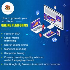 No matter how attractive your website appears, if you do not promote them on online platforms, they cannot drive traffic that is essential for lead generation & conversion. We can help. Call us at 843.732.9932 or send us a mail at info@simplebrandmedia.com. Social Media Marketing, Digital Marketing, Web Design Services, Your Website, Advertising Agency, Business Goals, Together We Can, Lead Generation, Search Engine