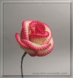 Learn How To Crochet Big Roses