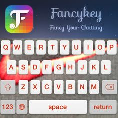 My new keyboard, made with @FancyKey #FancyKey ✊ http://dl2.fancykeyapp.com