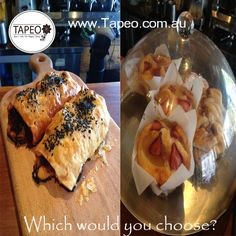 #Savoury or #Sweet? Which would you choose? Leave your comment below. Tapeo: 82 Redfern St, Redfern NSW. Check us out at http://www.Tapeo.com.au & follow us on FB http://FB.com.tapeo.au #tapeo #tapeocafe #tapeoredfern #redfern #sydneycafe #sydney #cafe #restaurant