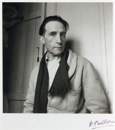 MARCEL DUCHAMP, French Artist (1887-1968). Most often associated with the Dadaist and Surrealist movements. Considered to be one of the most important artists of the 20th century. Duchamp produced relatively few artworks, while moving quickly through the avant-garde circles of his time. Duchamp's first work to provoke significant controversy was Nude Descending a Staircase, No. 2. In 1918, he left the art scene and devoted the rest of his life to the game of chess.
