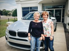Dear friends of Linda and Carol, If you plan on meeting these ladies somewhere, leave early.  They just purchased this beautiful and fast 2015 X6M so they'll be arriving earlier than usual, probably without even realizing it. Sincerely, Linda's and Carol's Reeves BMW Family