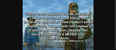 Same, expect he is my second since Lee died my first is Clem