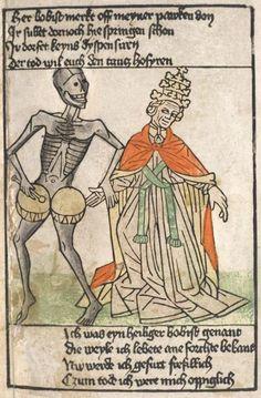 Heidelberg Bilderkatechismus', Totentanz, ca. 1455-58