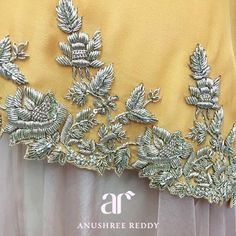 Dreamy details coming straight out of the Anushree Reddy headquarters for Spring Summer 2016! #MughalIndia #LakmeFashionWeek