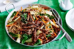 Get ready to sizzle with this delicious beef and noodle stir-fry. Ready in under 30 minutes.