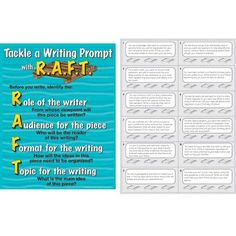 raft writing prompts social studies