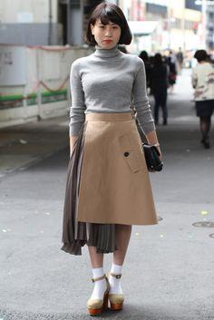 Ideas For Fashion Week Tokyo Street Style Spring 2016 Tokyo Fashion, Japan Street Fashion, New Fashion, Trendy Fashion, Fashion News, Spring Fashion, Korean Fashion Summer, India Fashion, Fashion 2020