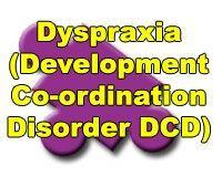 "DCD: Developmental Co-ordination Disorder, aka ""Dyspraxia""  http://dcd.canchild.ca/en/"