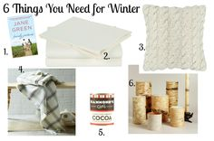Essentials for a cozy winter bedroom