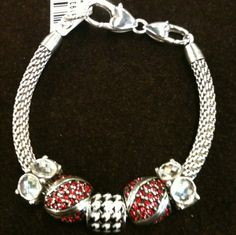 Start with a Brighton charm bangle or bracelet and add a few beads at a time.  Available at Blue Bumble Bee...we ship 205-426-9330
