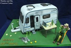 Caravan Cake - Cake by Mother and Me Creative Cakes