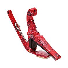 Kyser Quick-Change Capo 6-String Red Bandana