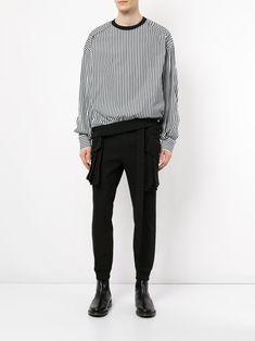 Juun.J layered trousers