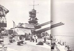 """381 mm / 50 Ansaldo Mod. 1934 - 381 milímetros de cañón, barcos, diseñados y producidos en Italia. El armamento de la Real Marina Italiana. Ha sido el desarrollo de armas de 381 mm Mod. 1914 diseñado para barcos de guerra nunca inacabadas tipo """"Francesco Caracciolo"""". Modelo 1934 fue desarrollado por Ansaldo, también hizo bajo licencia por OTO. Las diferencias entre los modelos fueron insignificantes. Utilizado en la Segunda Guerra Mundial como un indicador importante en los acorazados tipo…"""