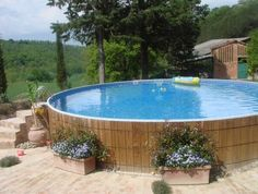 Wooded Above Ground Pool