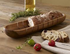 french bread tray: for perfect slices every time.