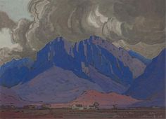 Cape Mountain Landscape / Pierneef, JH