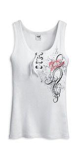 Harley-Davidson® Women's Tank - White 96285-12VW