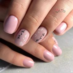 55 Wedding Nail Designs for Your These trendy Nails ideas would gain you amazing compliments. Check out our gallery for more ideas these are trendy this year. Nail Art Cute, Cute Nail Colors, Nude Nails, Nail Manicure, My Nails, Pedicure, Minimalist Nails, Neutral Nail Polish, Nail Polish Colors