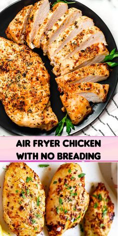 When you need a delicious dinner with minimal hands-on time, this Air Fryer Chicken is a delicious option!