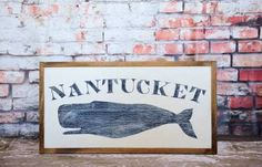 hand painted nantucket signs - Google Search