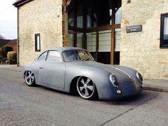 Slammed Porsche 356
