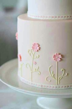 Delicate Cake Detailing