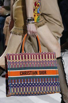 Dior Multicolor Printed Tote Bag 2 - Spring 2018