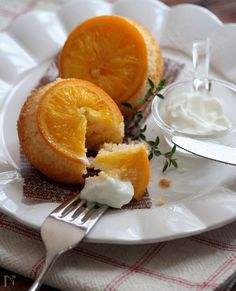 ジューシー・オレンジケーキ。 by 栁川かおり