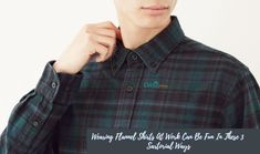 Want to know how you can wear flannel shirts in a formal office set up? Check out this blog and know more about it. #FlannelShirtManufacturers #FlannelShirtManufacturer #FlannelShirtDistributor #FlannelShirtSupplier Red Flannel Shirt, Flannel Outfits, Flannel Dress, Color Your Hair, Ombre Hair Color, Hair Color Balayage, Best Uniforms, School Uniforms, Flannel Clothing