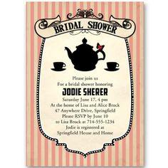 bridal shower invitations bridal shower invitations elegant wedding invitations invites tea party bridal