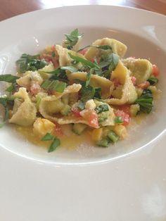 @PastariaSTL zucchini basil cappelletti with tomato concasse, summer squash & basil #summer