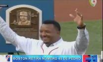 UPLOADER, VIDEOS Boston Retira El Número 45 De Pedro Martínez #Video