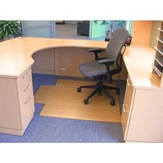 Anji Mountain Bamboo Tri-Fold Plush Chairmat. Our patented Bamboo Office Chairmats have introduced eco-friendly style to what was formerly an unattractive and purely functional accessory.