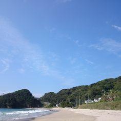 Beggining of  the Autumn. Irita beach in Shimoda-City Shizuoka pref. #Izu