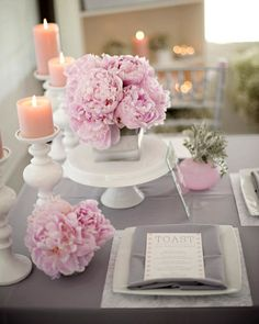 Ping & Grey Wedding Theme - Top 10 Unusual Colour Combinations - Wedding Blog | Ireland's top wedding blog with real weddings, wedding dresses, advice, wedding hair styles, wedding venue guides and more