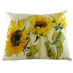 Ruth Harris Sun Sisters Cushion by Palmers Department Store Online. Sun Sisters, Watercolor Design, Store Online, Department Store, Country Style, Bedroom Ideas, Art Pieces, Cushions, Pottery