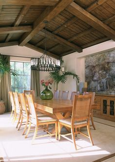 Dining rooms with rustic style | Interior Design Decor Blog
