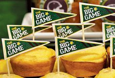 """""""The Big Game"""" Flags"""